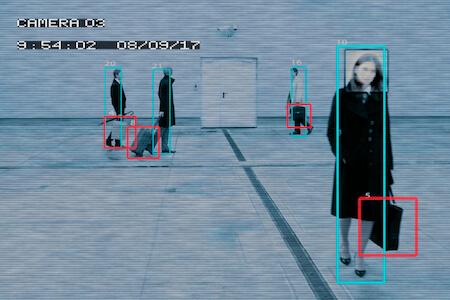 Überwachungskamera mit Bewegungserkennung